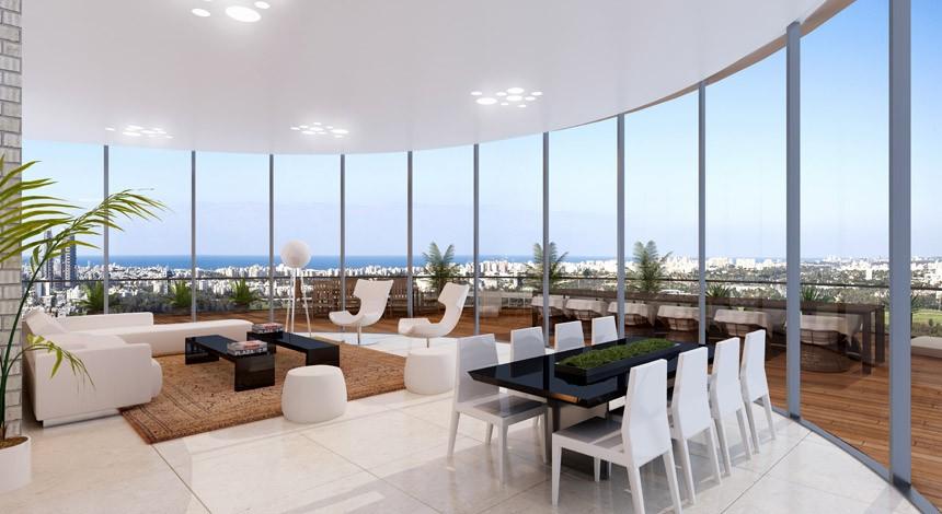 ענק דירות למכירה בתל אביב, פרויקטים חדשים בתל אביב - YBOX IH-52